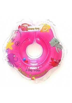Babyswimmer Rosa Hals mit Zornaitor 0-24 Monate