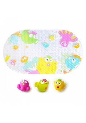 Set tapetes de baño y 3 juguetes Underwater World Escabbo 3