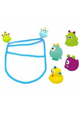 Set bag and 4 toys Happy Monster Escabbo 37