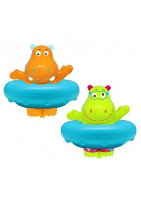 Hippo bath toy with Escabbo whistle 37034