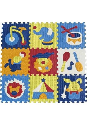 Babygreat Alfombras Puzzle Wonderful Circus 92x92 cm