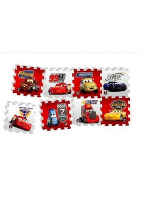 "Alfombras Puzzle Cars - ""Race of a Lifetime"", 8 uds, Knorrtoys"