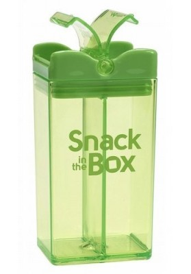 Snack container with 2 departments Snack in the Box