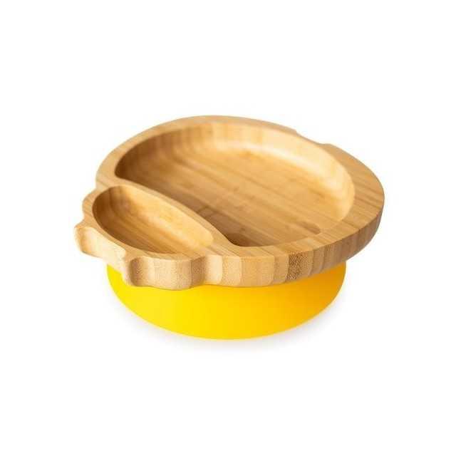Plaque de Buburuza en bambou, jaune, éco coquins